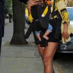 Celebs Style: Beyonce, Cassie, Brandy & Blac Chyna Wearing A $1,275 Versace Silk Shirt