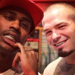 Conflict Diamonds: Big Sean Gets An Iced-Out Yellow & White Diamond Grill From Paul Wall