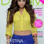 Sexy & Colorful: The Talented Christina Milian Covers Denim Magazine