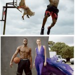 Mixing Basketball With Fashion: A Shirtless Dwayne Wade Featured In Vogue Magazine With Supermodel Karlie Kloss