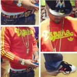 Styling On Them Lames: Juelz Santana Wearing Upscale Designer Clothes, Belts & Sneakers [Pictorial]