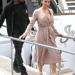 Styling On Them Lames: Kanye West Rocking $545 Balenciaga Arena Sneakers & $638 Balmain Hoodie