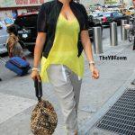 Celebs Style: La La Vazquez-Anthony, Beyonce & Kim Kardashian In $795 Christian Louboutin Un Bout 120MM Heels