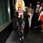 Dining In Hollywood: Nicki Minaj & Friends At Katsuya Restaurant