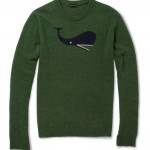 Currently Obsessed With: $610 Jil Sander Whale Intarsia Camel & Wool-Bend Sweater
