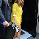 Celebs Styling In The Limelight: Beyonce, Jessica White, Julissa Bermudez & Solange Wearing Bright Summer Colors