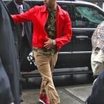 "Styling On Them Lames: Chris Brown Wearing A Supreme Olive Hawaii Shirt & Air Jordan1 ""Retro"""