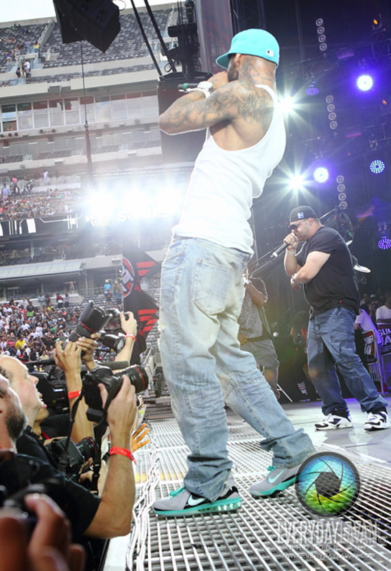 "8810f886836 Sneaker Me Dope  Joe Budden Rocking ""South Beach"" Nike LeBron 9 P.S. ..."