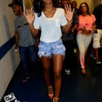 Styling On Them Hoes: Kelly Rowland In $975 Charlotte Olympia Kiss Me Leather Pumps & Daisy Dukes Shorts