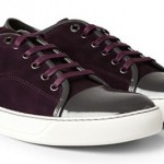 Dope Or Nope? $485 Lanvin Burgundy Suede & Patent Leather Sneakers