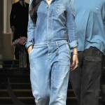 Girl You Know I Love Your Style: Rihanna Wearing An Armani Jean Jumper & Timberland Boots