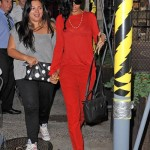 Styling On Them  Hoes: Rihanna Wearing $895 Christian Louboutin Havana Woman Trash Oxfords Shoe & Carrying A Celine Bag