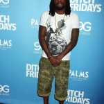 Passion For Fashion: Wale Wearing PRPS Floral Camo Cargo Shorts & Nike Air Foamposite Sneakers