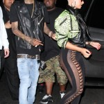 Styling In Hollywood: Wiz Kahlifa & Amber Rose Spotted Leaving The Roxbury Nightclub