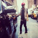 """Watch My Sneaker: Big Sean Wearing Nike Air Yeezy 2 """"Black/Solar Red"""""""