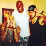 Over In The French Riviera: Chris Brown, Rihanna, Swizz Beatz, Magic Johnson & Ludacris Spotted In Cannes