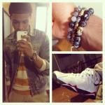 "Sneaker Me Dope: Diggy Simmons Rocking Air Jordan 7 ""Cardinal"" Retro"