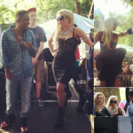 Showing Support To Her New Friend: Lady Gaga Spotted In Chicago Cheering On Kendrick Lamar