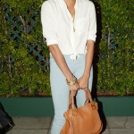 Styling On Them Hoes: Letoya Luckett Carrying A  $1,895 Chloe Bag & Wearing Yves Saint Laurent Pumps