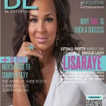 A Single Lady Sitting Pretty In White: LisaRaye McCoy Cover Be Magazine