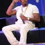 Fashion Me Dope: Nas Wearing $595 Maison Martin Margiela Gold Metallic Leather Sneakers & A White Sleeveless Hoodie