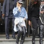 Celebs Style: Rihanna, Teyana Taylor & Ciara Wearing Thigh-High Christian Louboutin Boots
