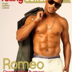 He Is Showing His Chest, Six-Pack & Abs For The Ladies: Romeo's Shirtless Cover & Spread For Rolling Out