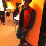 Celeb Style: Diggy Simmons & Kid Cudi Wearing A $3,745 Balmain Teddy Varsity Jacket