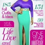 Nene Leakes Wearing A Color Blocking Outfit On The Cover Of Denim Magazine