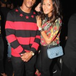 Victor Cruz Hit Up The Barclays Center In A In A $560 Givenchy Star Striped Red & Black Cotton Jersey Sweater & Air Jordan VI (6) Retro