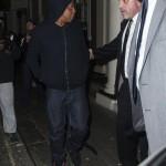 "Watch My Sneaker: Jay-Z & Riahnna Wearing Nike Air Yeezy 2 ""Black'Solar Red"""