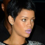 Rihanna Wearing A $1,735 Mary Katrantzou Intarsia Knitted Sweater, $585 Alexander Wang Cameron Boots & $770 Mini Duffle