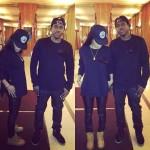 G.O.O.D. Music STYLING: Teyana Taylor & Pusha T Wearing A Givenchy Metal Flag Cuban Sweater