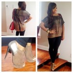 Toya Wright Styling In $995 Nicholas Kirkwood Taupe Suede Ankle Booties