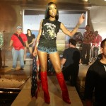 Styling On Them Hoes: Brandy In A $285 Balenciaga Sphinx Tee-Shirt & $1,750 Givenchy Red  Fold Over Boots