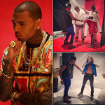 Passion For Fashion: Chris Brown Sporting A $140 Aston Mozie The 'Holy' Crew Tee-Shirt For His XXL Cover Shoot