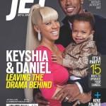 Keyshia Cole, Her Husband Daniel & Their Son DJ Covers Jet Magazine, Do We Love KC's Platinum-Blonde Ponytail?