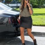 Breaking Down Her Style: Kim Kardashian In Jimmy Choo, Louis Vuitton & Rick Owens