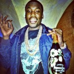 Passion For Fashion: Meek Mill Wearing An Alexander McQueen Tee-Shirt & Louis Vuitton Damier Jacket
