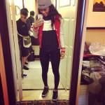 "Sneaker Me Dope: Teyana Taylor Spotted Rocking Air Jordan IX ""Johnny Kilroy"" In Neiman Marcus"
