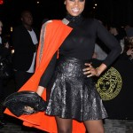 Jennifer Hudson, Kanye West & Melanie Fiona Attend 'Versace' Store Soho Grand Opening