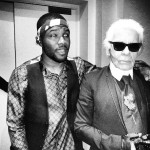 Celebs In Paris: Frank Ocean Hangs Out With Fashion Designer Karl Lagerfeld In The City Of Light