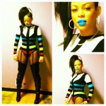 Keyshia Kao'ir Wearing $3,795 Christian Louboutin Sea.nn Girl Thigh High Boots