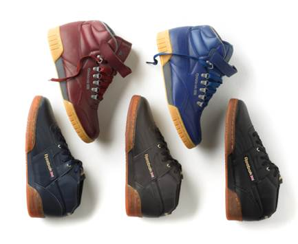 09a42c41812 Reebok Classics Released Images Of The Workout Mid Peanut Butter Ice    Ex-o-Fit Plus Hi D-Ring sneakers
