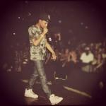 Peep His Style: Rockie Fresh Wearing A $475 Alexander McQueen Raven Tee-Shirt, APC Jeans & Air Jordan 6