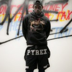 A$AP Mob Model In Clothing From Virgil Abloh's Pyrex Vision