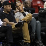 Jay-Z & Beyonce Spotted Courtside In Miami At The Heat Vs. Hawks Game