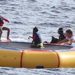 Diddy & Kids Are Still Vacaying In St. Barths; They Took A Swim In The Ocean And Chilled On A Yacht