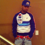 Juelz Santana Sporting A Born Fly Sweatshirt & Hermes Belt