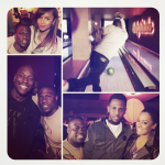 Celebs Including Lala Anthony, Fabolous, LeToya Luckett & Tyrese Attends Kevin Hart's Bowling Party